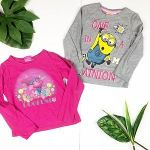 Other - Trolls and Minions Character Shirt longsleeves top